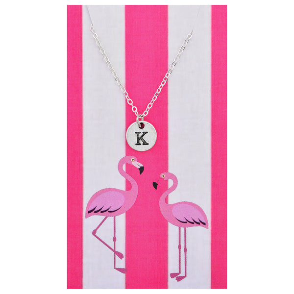 Custom Monogram Initial Pendant Necklace