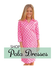 Pink Chain Polo Dress