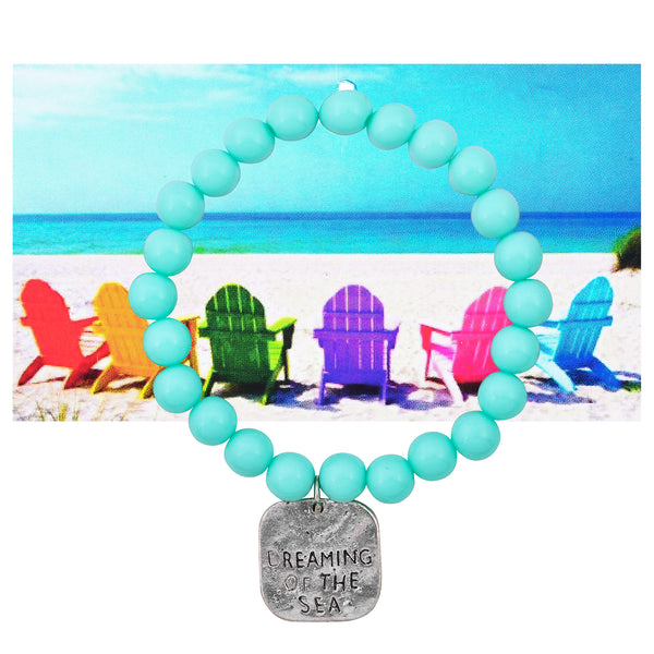 Dreaming of the Seas Beaded Bracelet