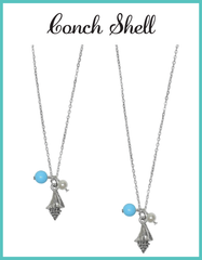 Beach Conch Shell Necklaces