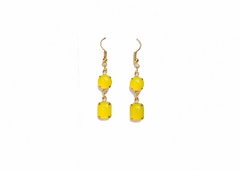 Lemonade Stand Vintage Earrings