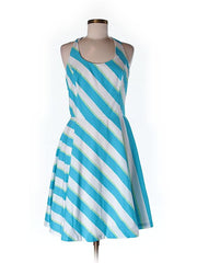Lilly Pulitzer Blue Stripe Dress Size 6