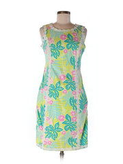 Lilly Pulitzer Tropical Floral Dress Size 2