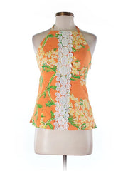 Lilly Pulitzer Sleeveless Embroidered Top Size 2