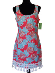 Lilly Pulitzer Thompson Watermelon Coralina - Size 8 REG. $198 NWT-SOLD OUT