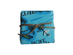 Pina Colada Fresh Soap-Free Airplane Jewelry Charm