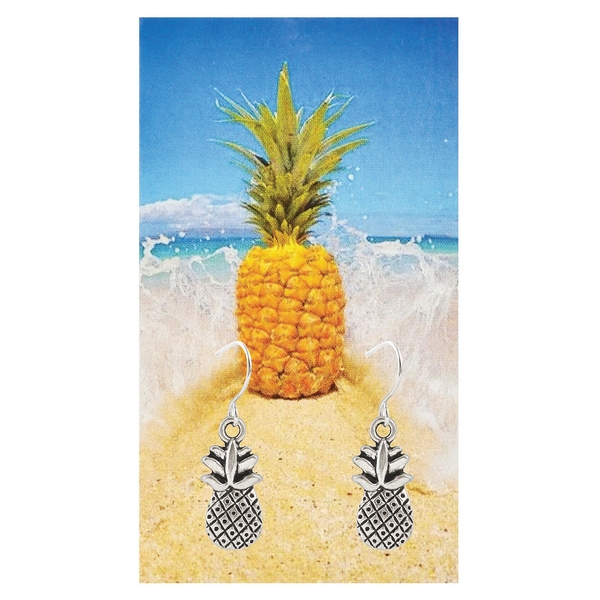 Sparkling Pineapple Earrings