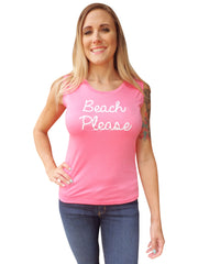 Pink Flamingo Tank Top