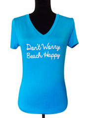 Beach Wedding Quote T Shirt-Choose you Color and Quote