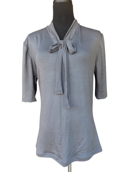 Steel Gray Blouse