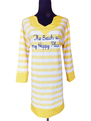 Beach Honeymoon Tunic Dress-Choose Your Color