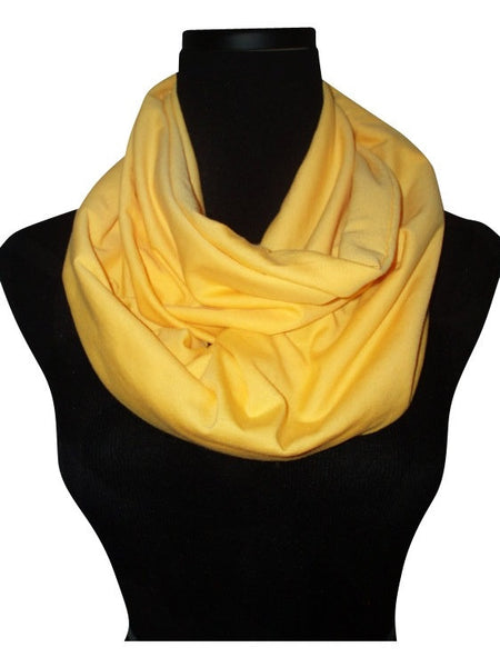 Sunshine Infinity Scarf-Circle, Loop, Eternity All Seasons Scarf