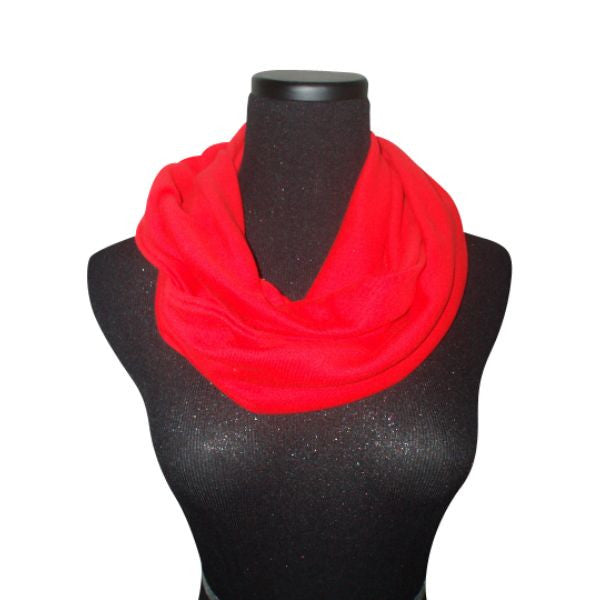 Nautical Red Infinity Scarf