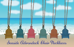 Seaside Adirondack Chair Necklaces-7 Colors