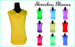 Beach Wedding Cowlneck Blouse-Choose your Color and Quote