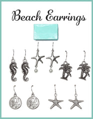 Classic Silver Starfish Earrings