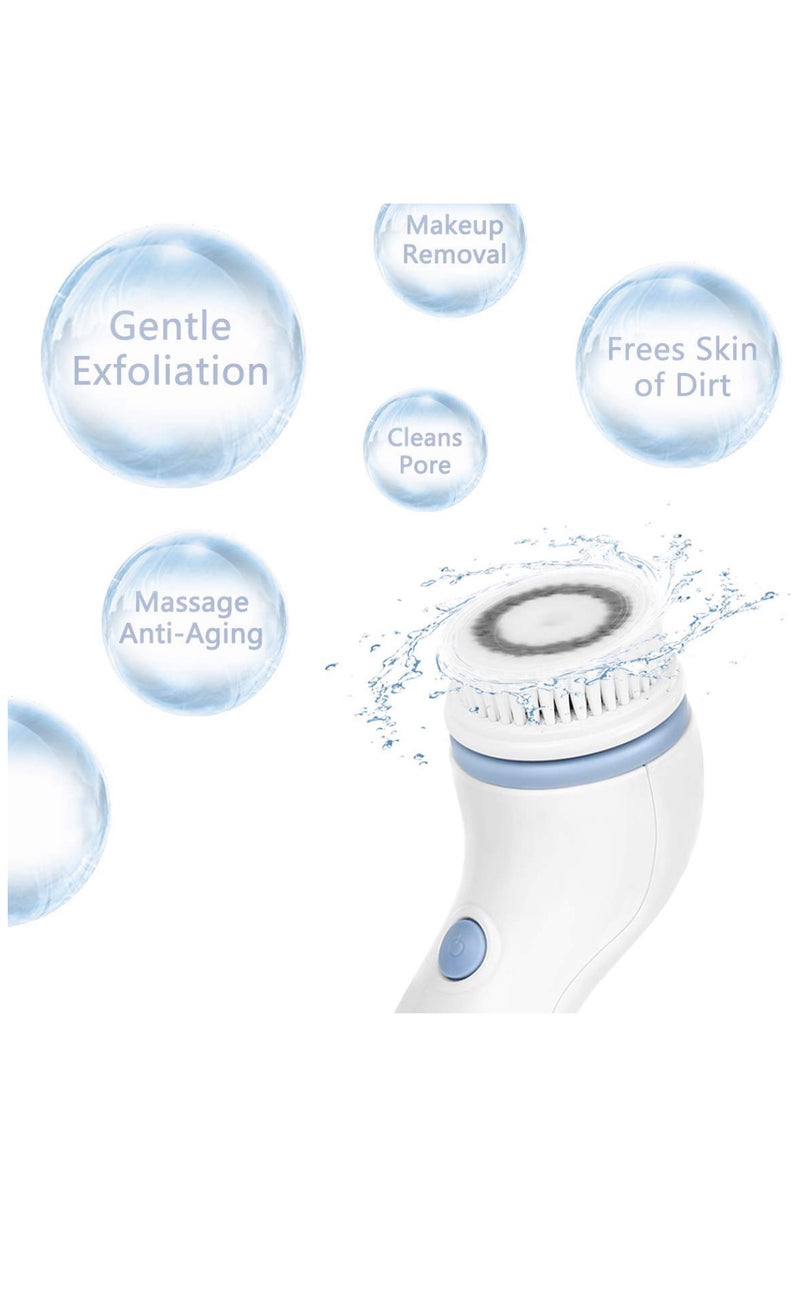 Triple strength anti wrinkle exfoliating facial brush