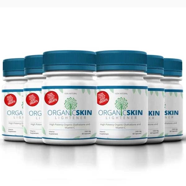 Organic Skin Lightener 6 months supply