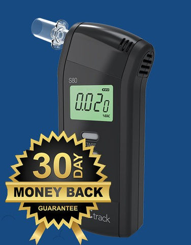 S80 Pro Breathalyzer 30 Day Money Back