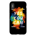 Yes You Can iPhone Glossy Matte Tough Phone Cases