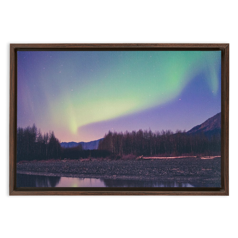 Aurora Framed Canvas Wraps