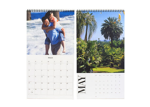 Custom Your Photo or Text Wall Calendars