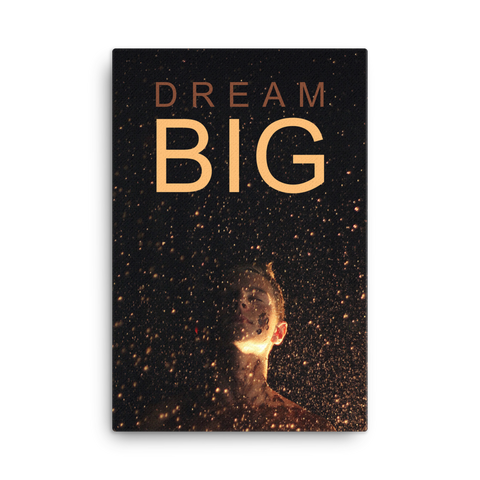 Dream Big II Canvas Wraps