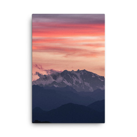 Mountain View Canvas Wraps
