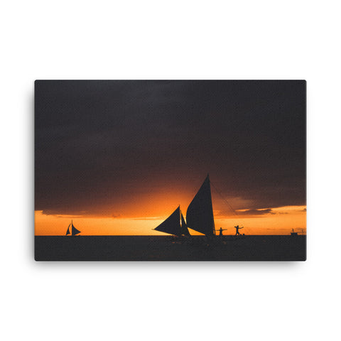 Sailboat Canvas Wraps