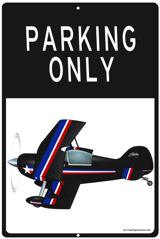 Airplane HD Sign Parking Only - SIGN-AIRG9KJG5-BBR1