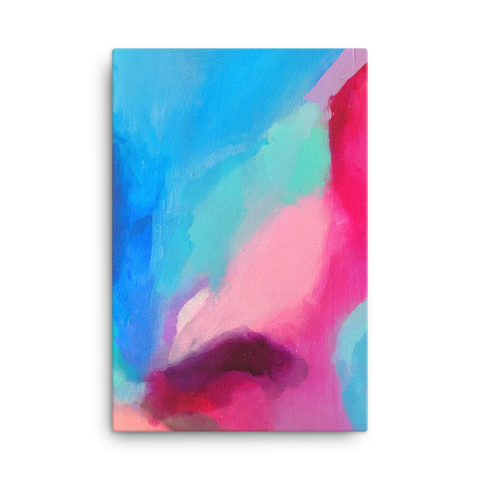 Abstract 5 Canvas Wraps