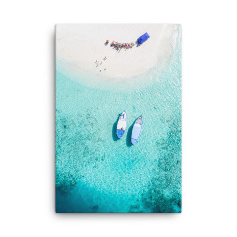 Island Hopping Canvas Wraps