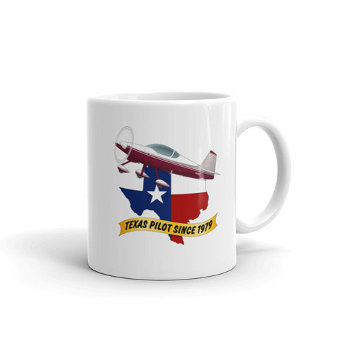 Texas Pilot Since 19xx Theme Mug - AIRM1EIM6A-MS1
