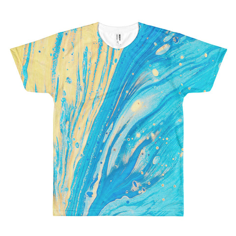 Ocean Blend All Over Print T-Shirt