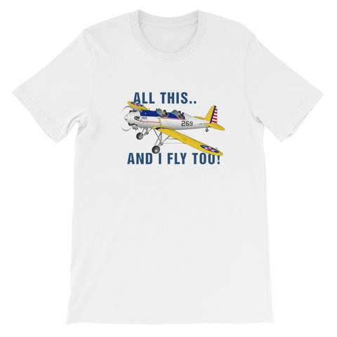 I Fly Too! Theme T-Shirt - AIRIP1ST3
