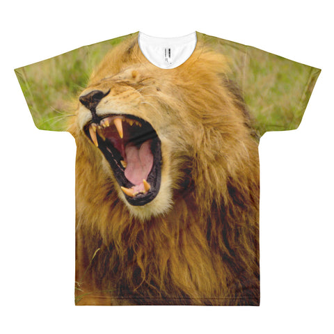 The Lion's Roar All Over Print T-Shirt