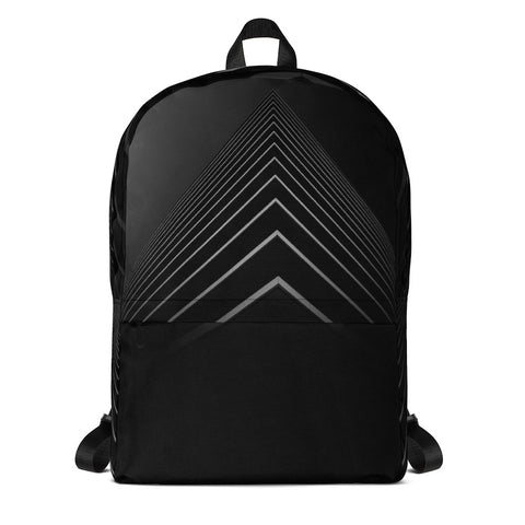 Black Trigon Bag Backpack