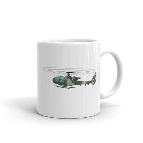 Helicopter Design (Green) Mug - HELI15I71Q-G1