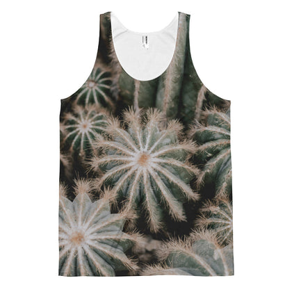 Cactus Plant All Over Print Classic Fit Tank Top