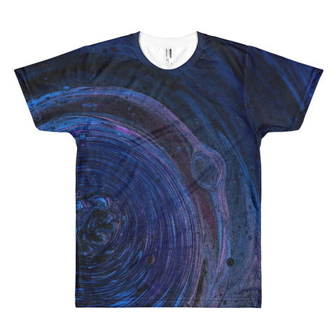 Healing Spirals All Over Print T-Shirt