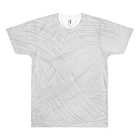 Silver Arcs All Over Print T-Shirt