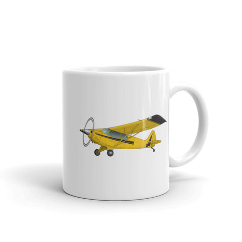 Airplane Design (Yellow/Black#2) Mug - AIR1M98LJ-YB2