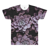 Succulent Plant II All Over Print T-Shirt