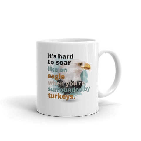 Hard to Soar Theme Mug