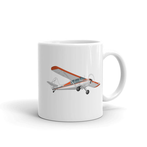 Airplane Design (Orange) Mug - AIRJ5IJ5415AC-O1