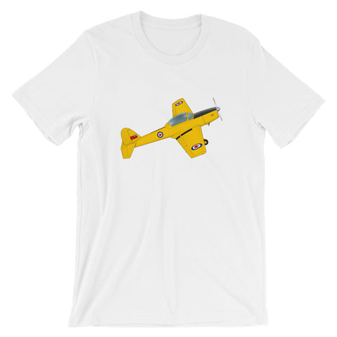 Airplane Design (Yellow)  T-Shirt - AIR458DHC1-Y1