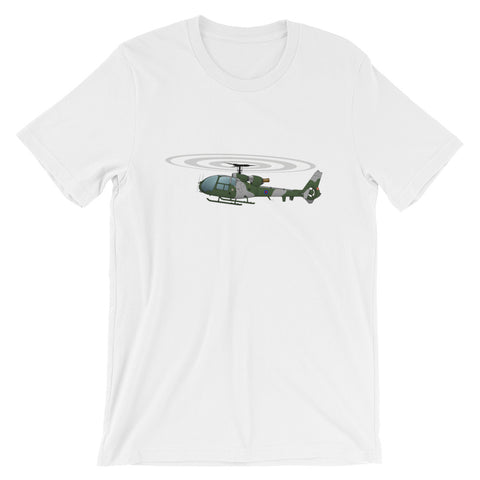 Helicopter Design (Green) T-shirt - HELI15I71Q-G1