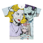 Graffiti at Coney Island All Over Print T-Shirt