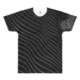 Black Imperial All Over Print T-Shirt