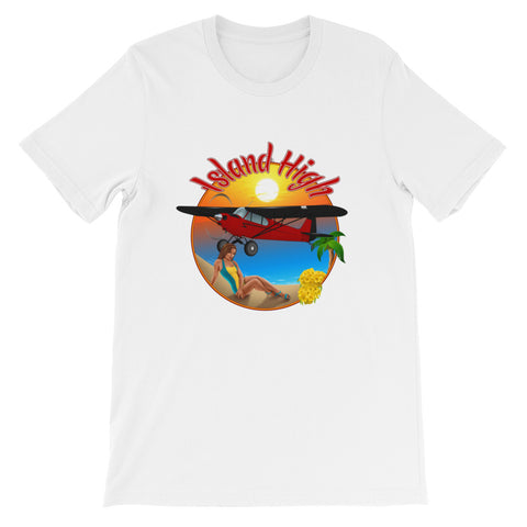 Island High Pinup Theme T-Shirt - AIRG9GPA12-R1